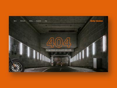Harley Davidson 404