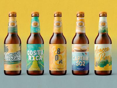 Tropical Beer Art