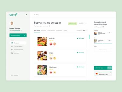 Redesign Glovo.ua