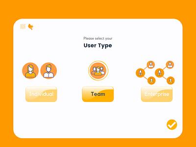 User Type user user type team 064 pay illustration inspiration unique creative popular modern dribbble design challenge dailyui