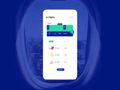 Flight Search web mobile flight booking searching flights onboarding 068 daily ui unique inspiration creative popular modern dailyui dribbble design challenge