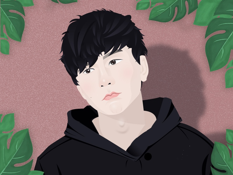 JJ-Lin singer favorite my illustration.jj-lin