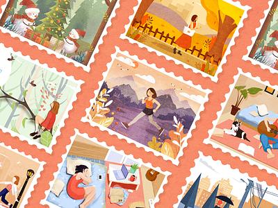 2018 illustration collection design