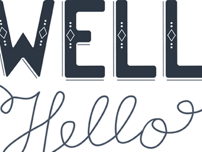Well hello hello lettering portfolio