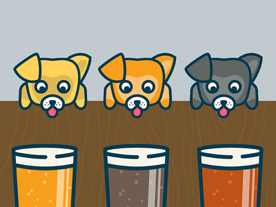 Pints and pups