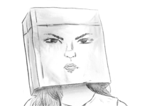 My face says it all random portrait bag daily dailydrawing illustration