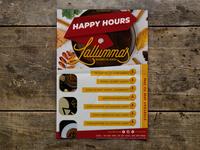 Happy Hours Flyer Mockup