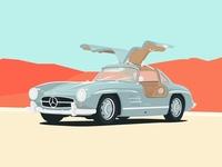 1956 Mercedes Benz 300 SL Gullwing