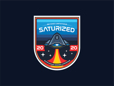 Saturized Patches designandlive designs galaxy interstellar spaceships starship universe cosmos spaceship spacetime beauty illustration design illustrations illustration art illustrator design patchwork patch patches space