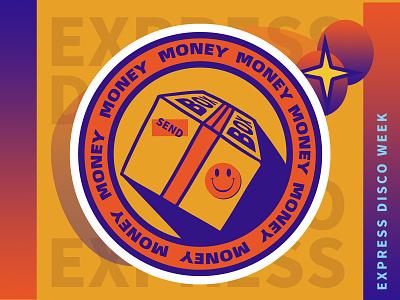 Music express box oldschool express ux ui vector design illustrator graphicdesign flat drawing digitalart art illustration
