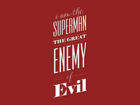 Great Enemy of Evil