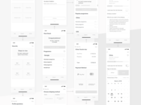 User Flow / Wireframe