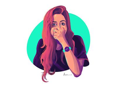 Digital Painting color portrait digital illustration digital painting digitalart illustrator photoshop