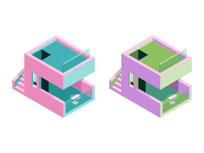 Isometric house