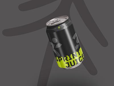 Forrest - Sprint Juice wip energy drink sport cae000 cae000 design designlife mock up