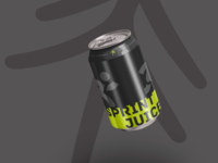 Forrest - Sprint Juice wip energy drink sport cae000 cae000 design designlife mock up
