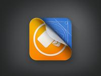 """appsfire : """"Debug version"""" icon"""