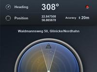 First shot : Navizon App