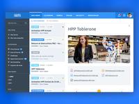 Internal news web app [WIP]