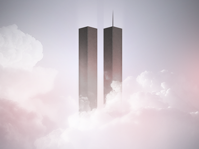 9/11 twins towers 911 world trade center 10 years sky lights cloud clouds building photoshop remember memories