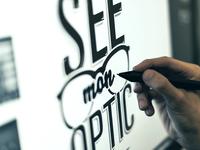Work in progress : Optician in Montmartre