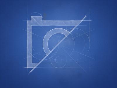 Camera Logo / blueprint