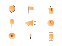 Icon Set Rebound