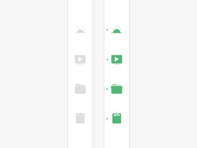 Navigation Iconography web iconography navigation icon sidebar