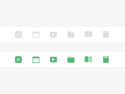Navigation Iconography Final select hover sidebar nav bar tab bar icon navigation