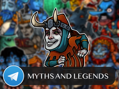 Myths and Legends Telegram Sticker Pack