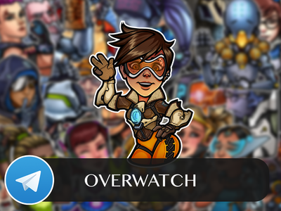 Overwatch Telegram Sticker Pack