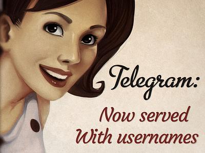 Telegram Usernames Function Promo old school promo retro telegram