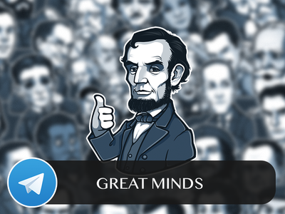 Great Minds Telegram Sticker Pack