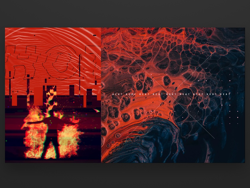 Style Frame 08 heat red hot graphic design motion graphics designer london motion designer freelance motion designer design for motion style frame abstract motion motion graphics animation graphic mograph