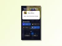 DailyUI #010 – Social Share