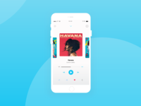 Music Player, interface practice