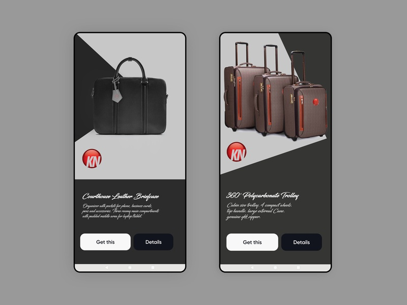 Mobile App Leather Accessories