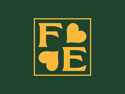 Faye Emmy 3 70s logotype identity logo typography branding vector design bespoke typeface typeface design custom type custom typeface ligature faye emmy restaurant restaurant branding monogram