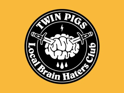 Twin Pigs patch