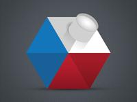 concept logotype Czech photo
