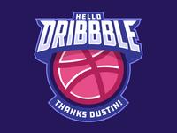 Dribbble Debut