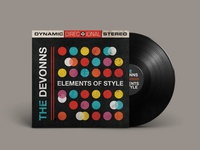 The Devonns - Elements Of Style | Vinyl Mockup