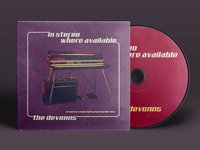 The Devonns - In Stereo Where Available | CD Mockup