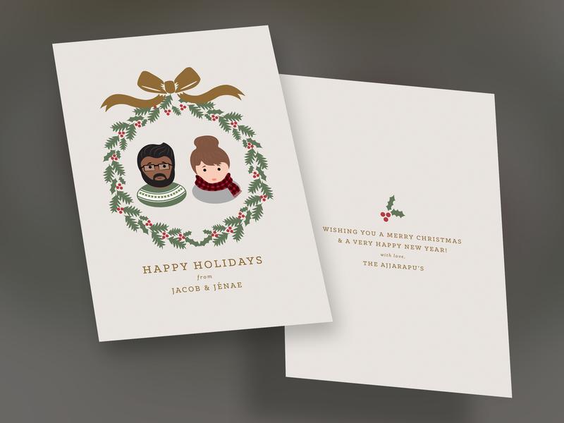 Christmas Card 2014 christmas card illustration design