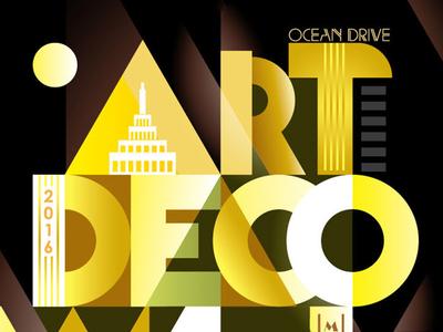 ArtDeco Poster