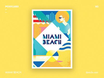 Postcard #3 | Miami Beach
