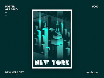 Poster Art Deco / New York 03