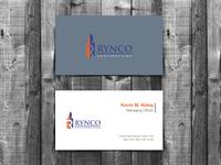 Rynco Company Business Card