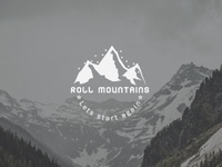 Roll Mountains Logo