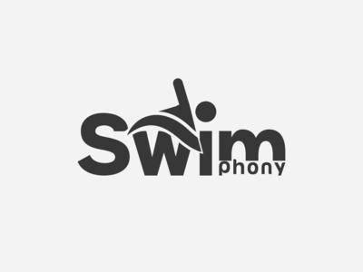 Swim Logo swimmer swiming swim art flat typography corporate-identity branding icon vector ux print design illustration dribble design logo